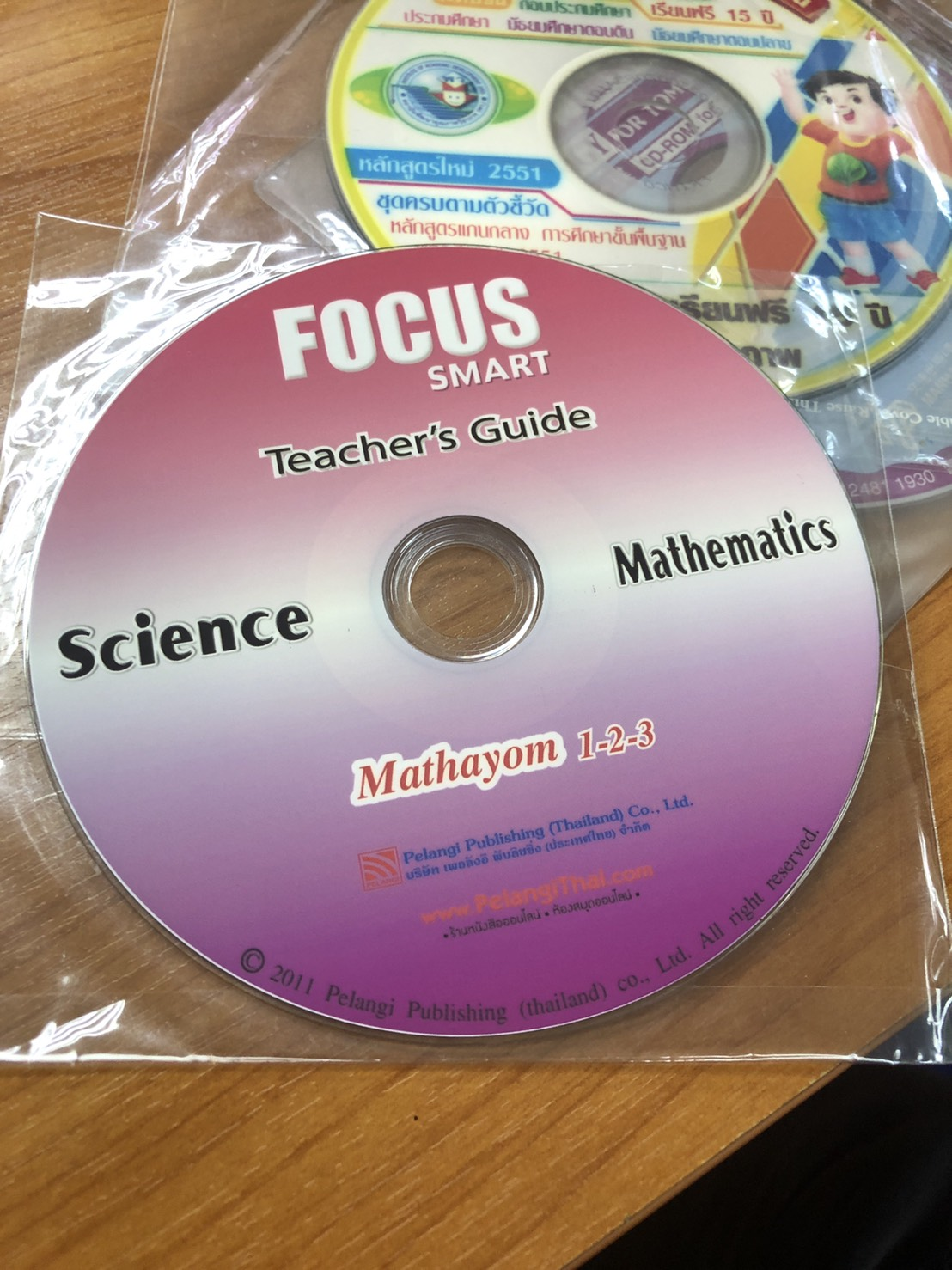Focus Smart Teacher's Guide for Mathematics M.3