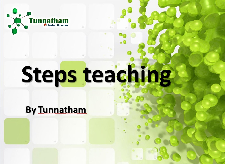 Step teaching
